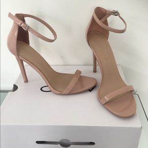 Aldo Nude Heeled Sandals